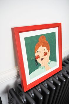 AFFORDABLE ART (AND WHERE TO FIND IT) - The Frugality The Frugality, Hallway Inspiration, Make It Work, Affordable Art, Bookends, Original Art, Gallery Wall, Frame, Home Decor