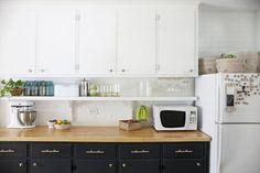 Eclectic Kitchen renovation- incluyendo antes y después de las fotos