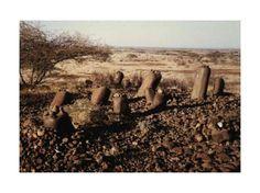 Dancing stones of Namoratunga, Kenya.