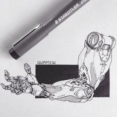 Bionic Robotics Design, Edon Guraziu on ArtStation at https://www.artstation.com/artwork/lNa3z