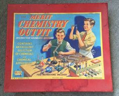 The merit #chemistry #outfit set - vintage 1960s #educational game toy,  View more on the LINK: http://www.zeppy.io/product/gb/2/162048522373/
