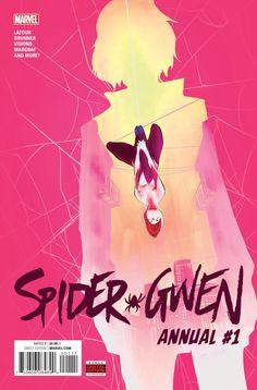 Spider-Gwen - Art by Robbi Rodriguez Marvel Comics Marvel Girls, Marvel Vs, Marvel Dc Comics, Comic Book Characters, Marvel Characters, Comic Character, Spider Gwen, Neko Girl, Les Innocents