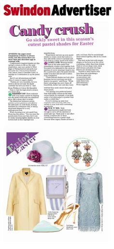 Ted Baker Footwear on Swindon Advertiser 17.04.14