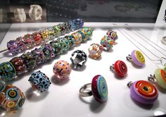 lampwork beads by Amy Johnson