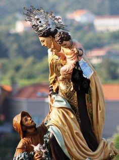 Virgen del Carmen de Combarro.