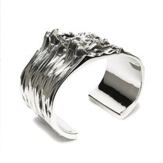 3D XZ BANGLE L (inspired by Peter Saville's 'Unknown Pleasures' artwork) - JAM HOME MADE