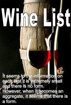 ワイン好きのワインリスト-Wine List-|ちょっとおじゃまな情報屋さん!