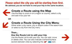 Plan a round the world trip with this site