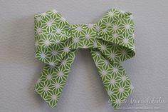 Moño de origami paso a paso