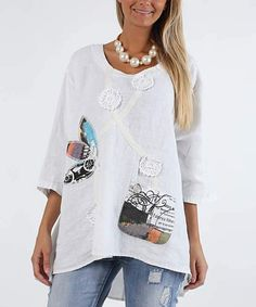 f2fb27d7e6c Panhandle Women s White with Multicolor Paisley Embroidery Long Sleeve Western  Shirt