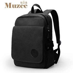 03f15f6df9a9 Muzee New Student Laptop Backpack High Capacity backpack Fashion Casual  Canvas backpack for teenagers mochila