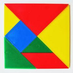 Tak TROCHU ... jiný svět: Skládání tangramu podle předlohy Photo And Video, Abstract, Artwork, Geometry, Summary, Work Of Art, Auguste Rodin Artwork, Artworks, Illustrators
