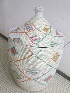 Home and Country Style Basket Laundry Basket by africanbaskets