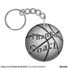 Inexpensive  Cool Basketball Coach Gift Ideas Double-Sided Round Acrylic Keychain: CLICK:  http://www.zazzle.com/chaep_cool_thanks_basketball_coach_gift_ideas_double_sided_round_acrylic_keychain-256062982496091097?rf=238147997806552929. Nice gift ideas for basketball coaches. http://www.ZAZZLE.com/LittleLindaPinda