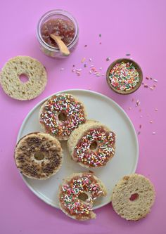 PB&J Donut Sandwiches