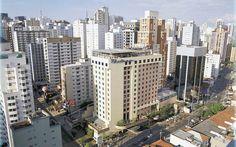 Big City Sao Paulo Brazil Landscape Wallpaper HD Image