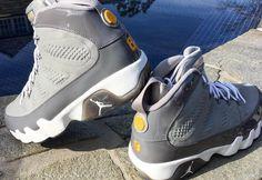 """Rare Look at Kobe Bryant s Air Jordan 9 """"Cool Grey"""" PE Basketball Sneakers, 870aa5501c"""