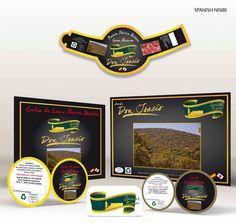 SPANISH NISIBI. Imagen corporativa y producción de cartelería y packaging de productos.