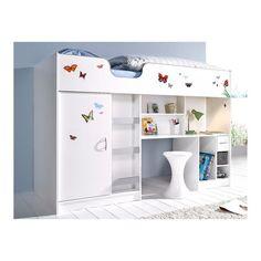 1000 ideas about lit armoire on pinterest armoire pont. Black Bedroom Furniture Sets. Home Design Ideas