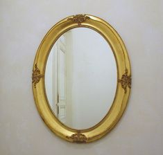 Large Magnificient Antique French Gold Gilt Wood Mirror- Antique Mirror in Good Condition - +80 years old - The Real Thing -Ancient Elegance