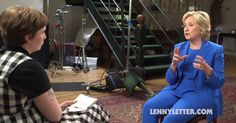 Lena Dunham's newsletter launches with Hillary Clinton interview