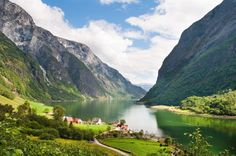 Just inland from Bergen is the stunning Nærøyfjord. A cruise on the fjord can be combined with a scenic morning train ride to Voss, before heading onwards to Gudvangen, where you can catch a ferry across the water to Flåm. Nærøyfjord is one of the narrowest fjords in Europe, and its beauty has been recognised internationally since it became a UNESCO World Heritage Site in 2005. With any luck, you will witness goats grazing alongside the fjord and playful seals lounging by the water's edge as…