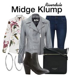 A fashion look from October 2017 featuring long sleeve tops, grey jacket and high-waisted jeans. Browse and shop related looks. Riverdale Set, Riverdale Fashion, Jennifer Fisher, Other Outfits, Marc Jacobs, Tv Shows, Fancy, Shoe Bag, Polyvore