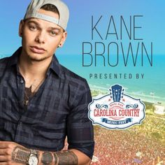 Kane Brown is coming to the Carolina Country Music Festival in beautiful Myrtle Beach, South Carolina! June 7 - 10, 2018 is going to amazing!  For more info go to https://www.visitmyrtlebeach.com/things-to-do/events/carolina-country-music-festival/
