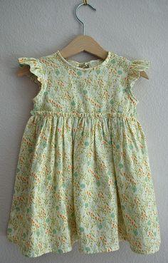 Violet's birthday dress by Kelly Lea Sews, via Flickr