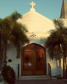Elmslie Memorial Church in George Town, Grand Cayman all dressed up for Christmas! This is the most beautiful church inside with the ceiling looking like the hull of a boat.  #caribbean #caymanislands http://www.flickr.com/photos/spotcayman/828