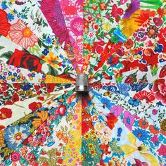 24 Liberty Lawn fabric 5 x 5inch Patchwork Charm Squares - SUMMER GARDEN - 2 on Etsy, $23.06