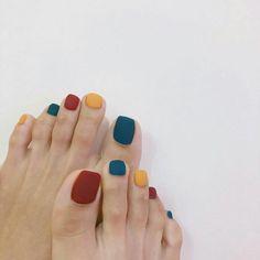 Pin on red nails Pin on red nails Minimalist Nails, Classy Nails, Stylish Nails, Matte Nails, Diy Nails, Acrylic Nails, Pedicure Nail Art, Nail Nail, Multicolored Nails
