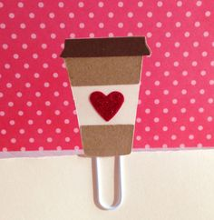 For your friends who love coffee...Coffee to Go Filofax Day Planner Bookmark Clip, $1.20