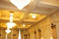 Casa Poporului #CasaPoporului #PalatulParlamentului #calatorii #obiectiveturistice #ghid #urban  www.cotroceni.ro Chandelier, Ceiling Lights, Urban, Lighting, Home Decor, Candelabra, Decoration Home, Light Fixtures, Room Decor