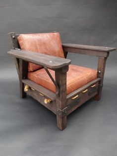 Monterey Classic Club Chair SOLD F1086 | Early California Antiques
