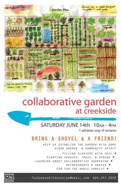 Collaborative Garden at Creekside Build Day Sat. June 14, 2014