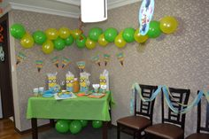Despicable me party setup Birthday Board, 9th Birthday, Birthday Party Themes, Birthday Ideas, Birthday Gifts, Despicable Me Party, Minion Party, I Party, Party Ideas