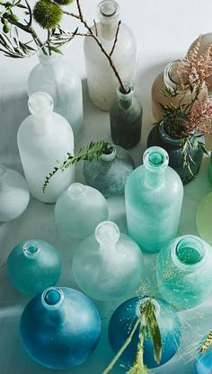 Beachy bottles