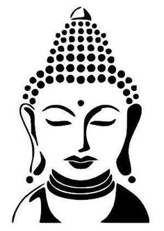 Buddha Drawing, Doodle Art Drawing, Girl Drawing Sketches, Buddha Painting, Buddha Art, Pencil Art Drawings, Stencil Art, Fabric Painting, Mandala Art
