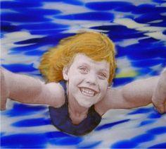 Photo Paper Girl, Perth Art Glass
