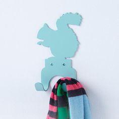 The Land of Nod | Kids' Storage: Kids' Squirrel Wall Hook in Shelves & Wall Hooks,  $29/each and not that big..