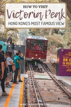 Victoria Peak is the highest point in Hong Kong and will gift you with sweeping iconic views of the Hong Kong skyline. Here's how to visit Victoria Peak. Travel Advice, Travel Guides, Travel Hacks, Travel Tips, Japanese Travel, Visit Victoria, World Travel Guide, Backpacking Asia, China Travel