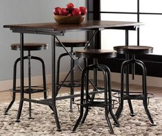 Industrial Park Gathering Table - Tables - Kitchen And Dining Room Furniture - Furniture | HomeDecorators.com ($200-500) - Svpply