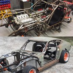Sorry purists but this here is @shawnb26 global time attack #Datsun #240z build. Here is the build list for this beast: #ls1 #s13 #carbonbody #wilwoodbrakes #bcracingcoilovers Checkout our website link is on our bio. #becauseracecar #racecar #chevy #nissan #v8
