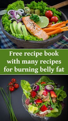 Get here free recipe book with many recipes for burning belly fat Healthy Eating Recipes, Low Calorie Recipes, Healthy Snacks, Vegetarian Recipes, Cooking Recipes, Calorie Diet, Best Diet Foods, Weight Loss Meals, Easy Diets