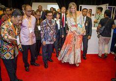Queen Maxima visits Jakarta, Indonesia
