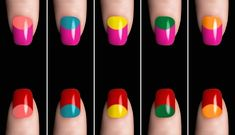 With the right tools, most importantly the reinforcement stickers, there is no stopping you. And if you're someone who is comfortable with taking a few risks, these wild and funky combination are just what you need. With so many options to choose from, you can try creating half-moon nails for any occasion. Of course, the