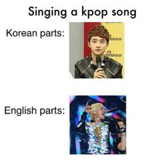 cant even speak korean O.o