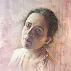 Pastel de Sylvain Tessier Pastel Portraits, Mona Lisa, Game Of Thrones Characters, Pastels, Artwork, Fictional Characters, Women, Paint, Painted Canvas