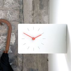 Areaware - Twice Once Clock - wall watch